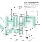 Подставка для AV аппаратуры Sonorous NEO 110-C-SLV фото 2