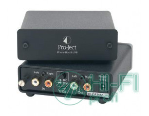 Фонокорректор PRO-JECT Phono Box USB black
