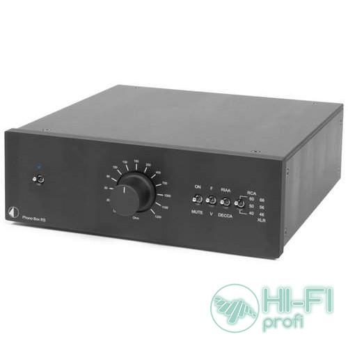Фонокорректор PRO-JECT Phono Box RS black