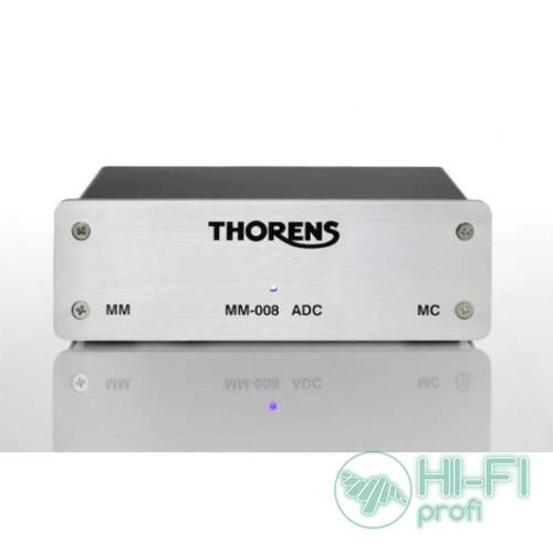 Фонокорректор с ЦАП Thorens MM-008ADC silver (MM/MC)