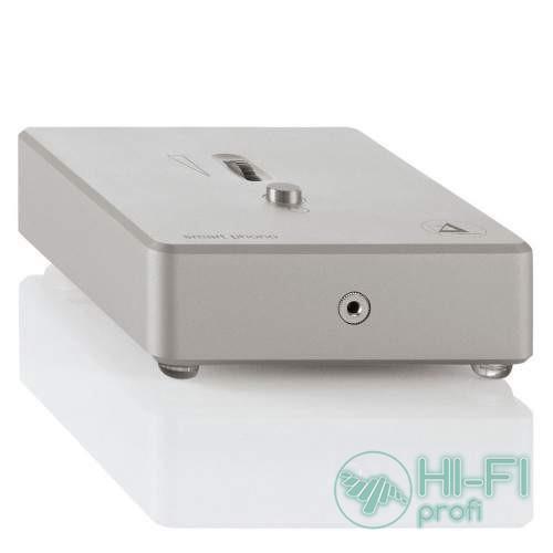 Фонокорректор Clearaudio Smart Phono V2 Silver з виходом на навушники (MM and MC;  EL 027H/S)