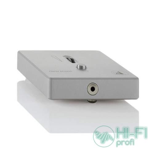 Фонокорректор Clearaudio Nano Phono Silver V2 з виходом на навушники(EL 028 H/S)