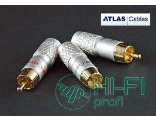 Коннектор Atlas RCA Plug 8.5 mm Cross Hatch Design