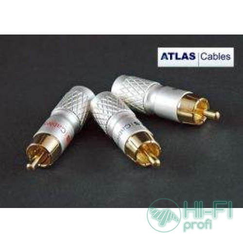 Конектор Atlas RCA Plug 8.5 mm Cross Hatch Design