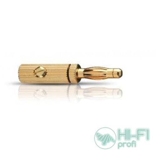 Разъем Oehlbach 3009 Banana B3 Pin gold