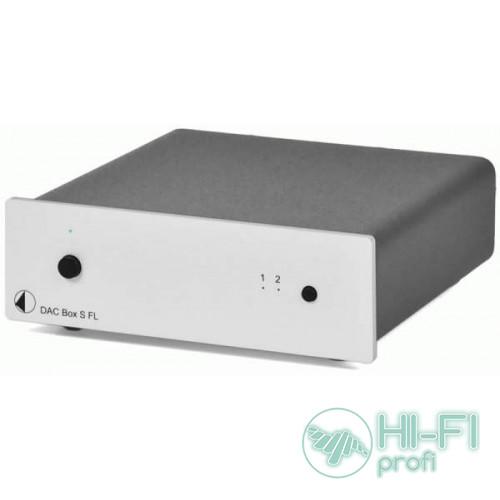 ЦАП PRO-JECT DAC BOX S FL SILVER