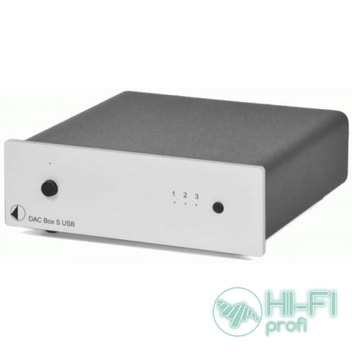 ЦАП PRO-JECT DAC BOX S USB SILVER