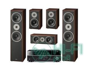 Домашний кинотеатр Акустика 5.0 Magnat Monitor Supreme 802 + AV-ресивер Yamaha R..