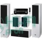 Домашний кинотеатр Акустика 5.0 HECO Celan GT 702 HG white + АV-ресивер Yamaha Aventage RX-A1040 фото 3