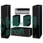 Домашний кинотеатр Акустика 5.0 HECO Celan GT 502 black + АV-ресивер Yamaha RX-V677 фото 3