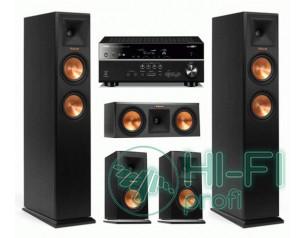 Домашний кинотеатр 5.0 KLIPSCH Premiere RP-250 set + Yamaha RX-V577