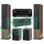 Домашний кинотеатр Monitor Audio Bronze 6 walnut + Denon AVR-X1200 фото 2
