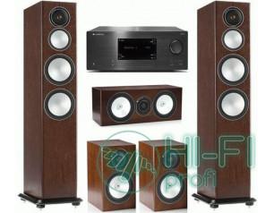 Домашний кинотеатр 5.0 Monitor Audio Silver 8 + AV-ресивер Cambridge Audio CXR12..