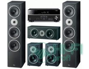 Домашній кінотеатр Magnat Monitor Supreme 1002 + Yamaha RX-V381 (MagnatMS1000b,MagnatMS100b,MagnatMSC250b,Y-RX-V373b)