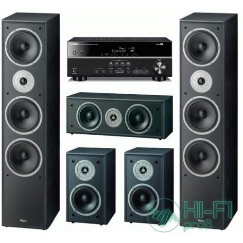 Домашний кинотеатр Magnat Monitor Supreme 1002 + Yamaha RX-V381 (MagnatMS1000b,MagnatMS100b,MagnatMSC250b,Y-RX-V373b)