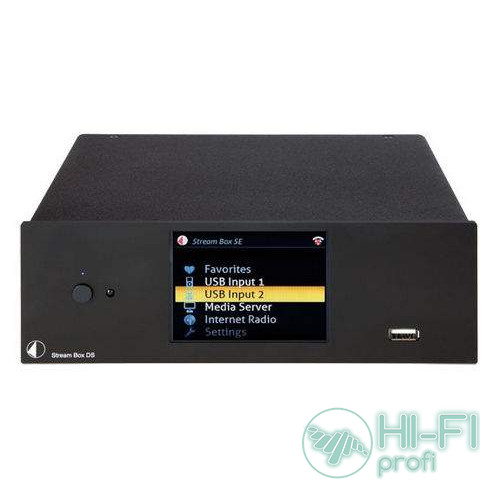 Сетевой плеер Pro-Ject Stream Box DS Black