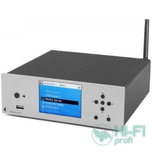 Сетевой плеер Pro-Ject Stream Box DS Plus Sillver
