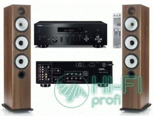 Стерео комплект Акустика Monitor Audio BX6 + стереоресивер Yamaha R-N500