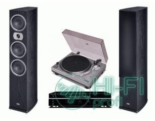 Стерео комплект Винил Sherwood PM-9805 + Sherwood AX-5505 + Heco Victa Prime 702..