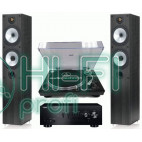 Стерео комплект Винил Audio-Technica AT-LP120USB + Yamaha A-S300 + Monitor Audio MR4 фото 2