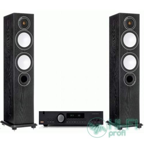 Стерео комплект Monitor Audio Silver 6 + усилитель Arcam A19