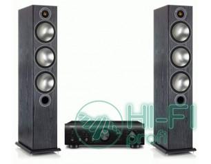 Стерео комплект Monitor Audio Bronze 6 + усилитель Denon PMA-720