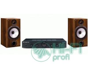 Стерео комплект Усилитель Cambridge Audio Topaz AM5 + MONITOR AUDIO Monitor Refe..