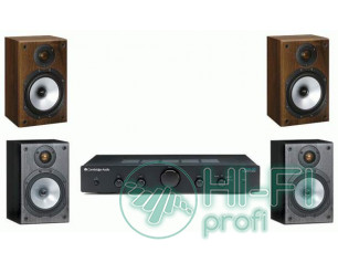 Стерео комплект Усилитель Cambridge Audio Topaz AM5 + MONITOR AUDIO Monitor Refe..