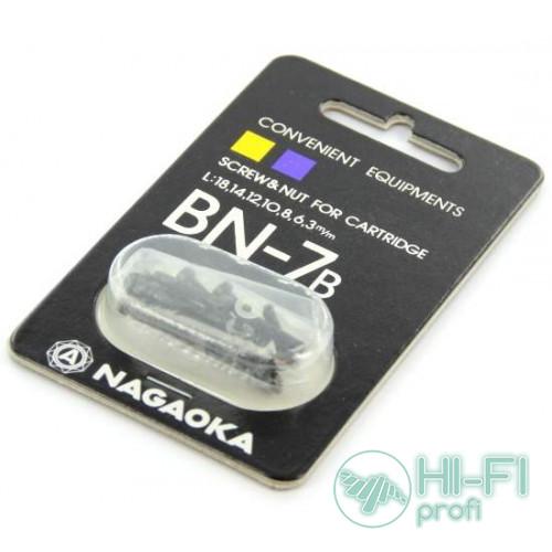 Набор крепежа для монтажа картриджа на шелл Nagaoka BN-7B