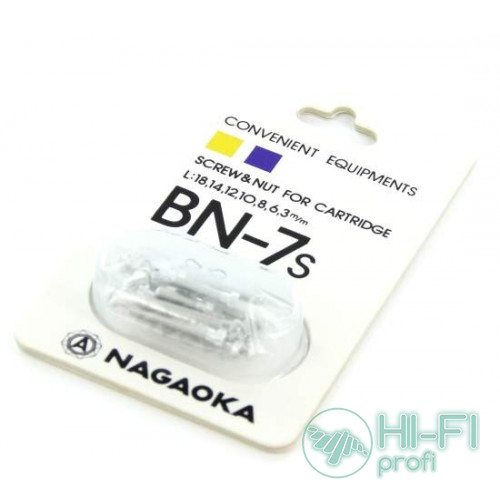 Набор крепежа для монтажа картриджа на шелл Nagaoka BN-7S