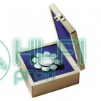 Прижим (клэмп) для пластинок Thorens Stabilizer Blue in Wooden Box фото 2
