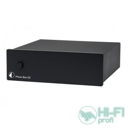 Фонокорректор Pro-Ject PHONO BOX S2 - BLACK
