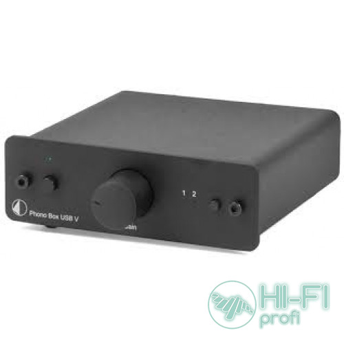 Фонокорректор Pro-Ject PHONO BOX USB V Black