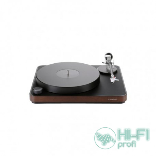 Проигрыватель виниловых дисков Clearaudio Concept  Active (MC) Black with wood